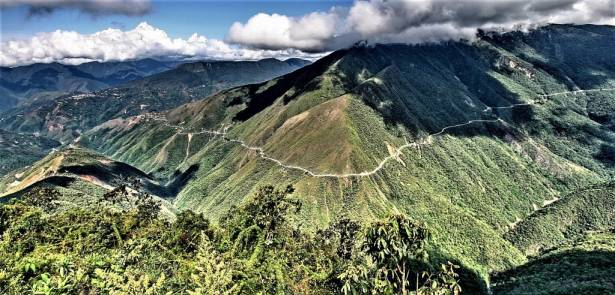 La Carretera de los Yungas or Death Road